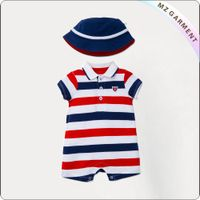 Kids Stripe Romper