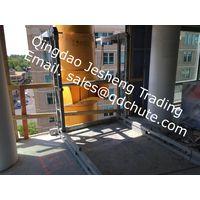 Debris chute ,rubbish chute ,trash chute,construction chute ,plastic chute, debris removal