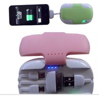 External portable battery charger for Iphone, Samsung
