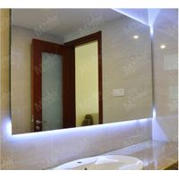 Mgonz belt led lighting bathroom mirror translucidus rectangle mirror
