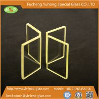 CT Room Suitable Protective Lead Glass