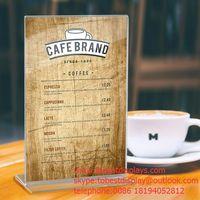 acrylic menu or poster holder sign display thumbnail image