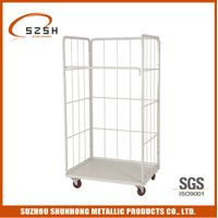 Metal Steel Warehouse transport Roll Container