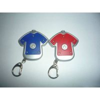 cloth LED keychain key chain