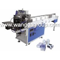 Soft Face Tissue/Napkin Paper Bagging and Sealing Machine with Convey Belt WD-822D-A thumbnail image