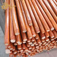 Guangxi GLY 120 PVC Coated Broom Handle Threaded End