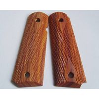 colt 1911 rosewood grips 022-1