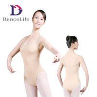 C2027 Wholesale Girls Nude Ballet Dance Leotards Dance Wear,Rhythmic Gymnastics Leotards Children