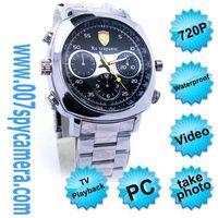 720P HD Waterproof Watch Camera With AV Out AV In LM-WC413