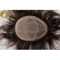 Factory Selling Monofilament Human Hair Toupee for men thumbnail image