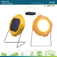 portable indoor outdoor solar lamp LED