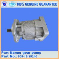 Komatsu wheel loader part WA420-3 gear pump 705-12-35240