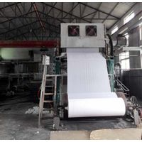 Good Quality And Price Jumbo Roll Tissue Machine Waste Paper Recycling Toilet Paper Production line thumbnail image