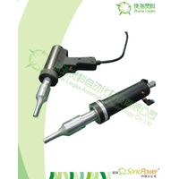 Ultrasonic plastic welding gun