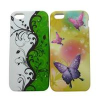 water transfer printing TPU mobile phone case for iPh5/5s
