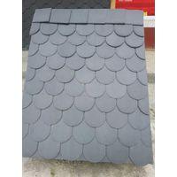 black natural slate stone roof stone tiles thumbnail image