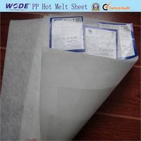 ping pong hot melt sheet