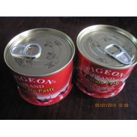 easy open and normal lid canned tomato paste,canned tomato puree,canned tomato saucecanned ketchep,c