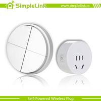 wireless and battery-free socket
