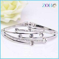 2016 new hot sale rhinestone bangles of fine jewelry vogue bangles products thumbnail image