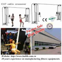 Factory C117 Cable Crossover Machine / Crossfit gym Fitness Equipment