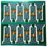 Rigid flexible PCb with the rigid parts 1.5mm board thickness from China professional PCB manufactur