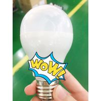 Economical A55 5w 110-240V 400lm LED bulb UL CE ES Philips and Osram