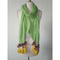cotton fashion jacquard scarf