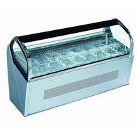 Mini ice cream showcase /Countertop ice cream display freezer