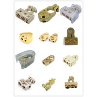 Nickel Gold Plated Car Audio Battery Terminal Positive/Negative Clamps Connector Terminals