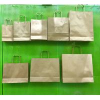 Surpermarket carry flat bags