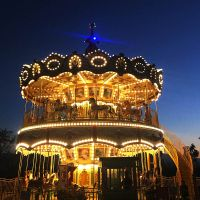 68 Seats Double Carousel Ride HFDC05--Hotfun Amusement Rides thumbnail image