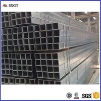 Quality 5050mm galvanized square tube/pipe/hollow /rectangular tube