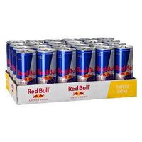 Austrian Red Bull Energy Drinks 8oz, 12oz and 16oz