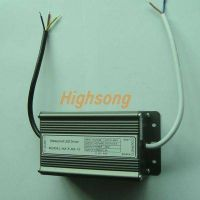Slim Aluminum Shell 150W Waterproof LED Power Supply, IP67 Protection Grade