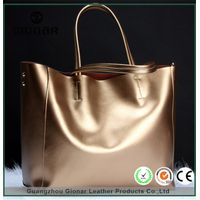 Hot selling fashion soft leather messenger handbag lady single shoulder bag