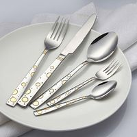 18/0 mirror polished spoons/forks/knives thumbnail image