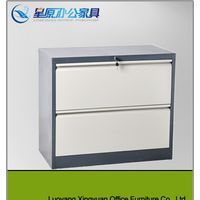 High Quality Metal Office Furniture Steel 2 Drawer Lateral Filing Cabinet