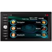 NISSAN Navigation Radio HD ipod CDC BT Car DVD