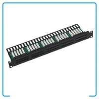 1U 19Inch Cat3 25 Ports RJ11 Telephone Patch Panel