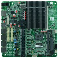 Intel J1900 Based MITX Fanless Cheap Firewall Board for Network Security Application, 4Lan