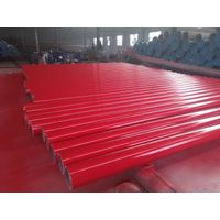 ASTM A53 Gr.B ERW pipes Painting red thumbnail image