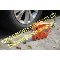 Portable 12V Car Air Compressor with Digital Guage and Light