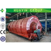 waste tyre pyrolysis machine with unique features