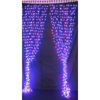 LED Curtain light for Christmas Holiday decoration