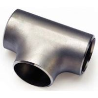 pipe tee stainless steel BW butt welding
