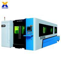 ZXL-FPED Gantry Exchange Platform Fiber Laser Cutting Machine