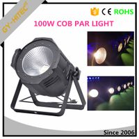 100W COB RGB LED Par Light warm white cool white led par can