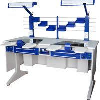 AX-JT6 dental lab workstation for 2 person thumbnail image