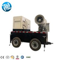 Fire Fighting Fog Cannon Dust Removal Fog Cannon Fog Cannon Agriculture Pesticide Sprayer thumbnail image
